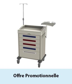 Agrandir : Offre Promotionelle chariot d'urgence